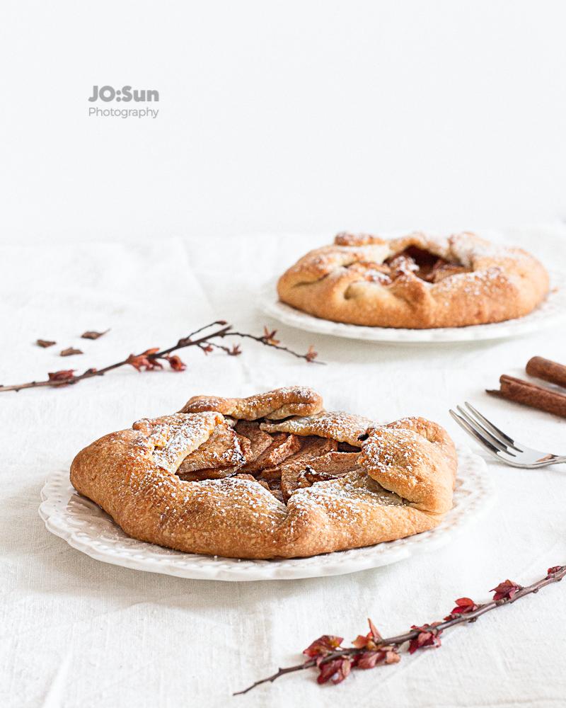 galette - ciasto z jabłkami